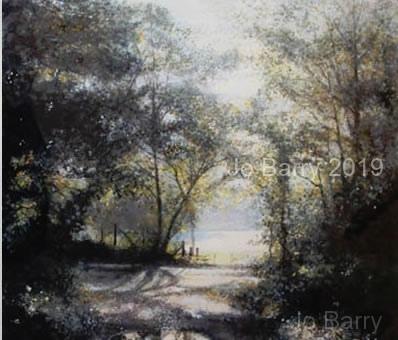 Light smiled - Watercolour - 25 x 27 cm